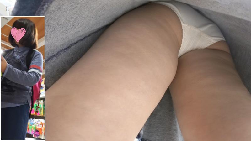 【Pcolleレビュー】SayuMinさん S03 お試し価格 学生風の白いパンツ 素朴かわいい【動画有り】