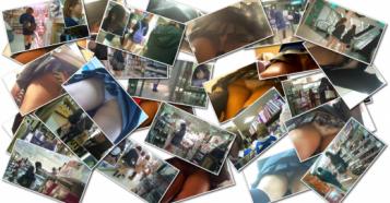 【パンチラ大図鑑】プルートさん 制服JK逆さ撮りNo25~No36 (1stシリーズ)
